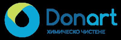 Химическо чистене & боядисване Донарт - лого