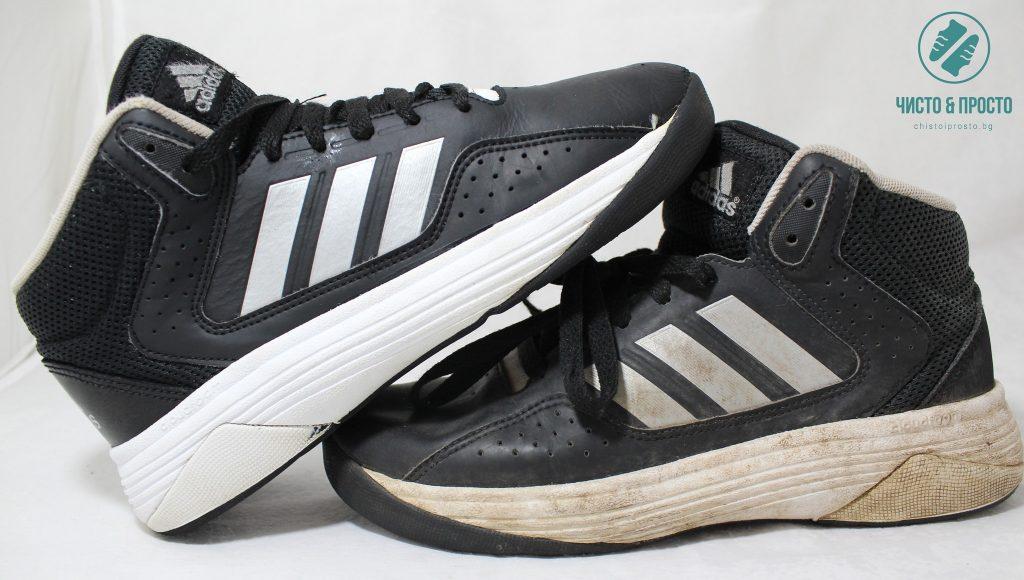 Почистване на спортни обувки Адидас