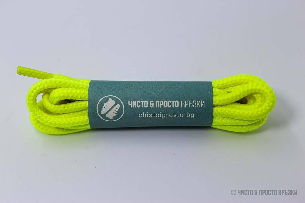 Електрикови, кръгли, дебели - връзки за обувки - 120 см.